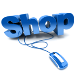 Graphic urging click to the shop